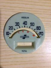 Lambretta 175 TV S1 S2 fondino contakm 70 MPH speedmeter odometer faceplate