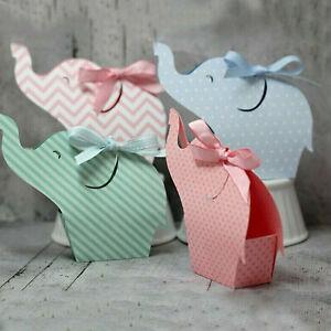 Modèle de poinçonnage Elephant Box pour l'amour de carte de voeux coeur éléphant