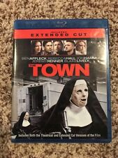 The Town (Blu-Ray/DVD, 2010, 2-Disc Set, Extended/Theatrical); FREE SHIPPING
