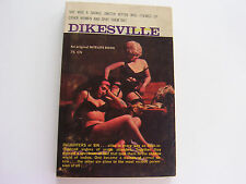 DIKESVILLE  1963   LESTER LAKE   SAVAGE SWITCH HITTER ORGASM MACHINE  VERY GOOD+