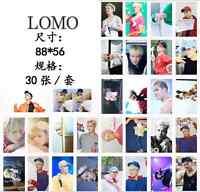 30pcs set Kpop GOT7 Jackson Wang Personal Photo Card Poster Lomo Cards