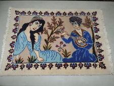 Handmade Pictoral Wool Rug