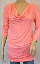 ★ LAURA SCOTT ★ 36~ T-Shirt Shirt ~ rosa~  NEU ~ Longsleeve 3/4-arm ~ Wasserfall