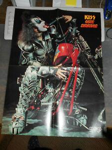 Pop Rocky ++ Poster ++ Kiss - Gene Simmons + Led Zeppelin ++ RAR ++ 200 ++