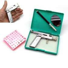 Pro Steel Ear Nose Navel Body Piercing Gun Kit Tool Set with Pack of 98pcs Stud
