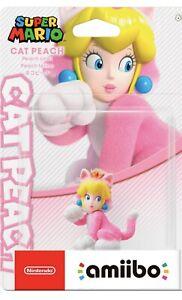 Cat Peach amiibo Nintendo Switch Super Mario Series - Bowser's fury - perorder
