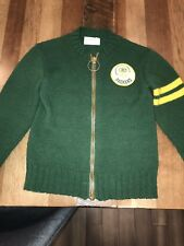 Vintage NFL Football Green Bay Packers Boys Zip Up Sweater USA