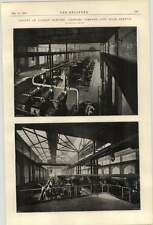 1900 County Of London Electric Lighting Company City Road Station Photographs