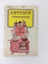 Antique Cookbook 1978 Bertha Barnes Paperback 100 Year Old Recipes