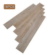 Vinyl Plank Flooring Self Adhesive Peel And Stick Bathroom Wood Floors 16 PCS