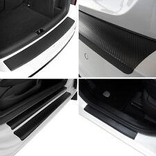 Set Carbon Ladekantenschutz und Einstiegsleisten VW Tiguan 2 (AD1) Carbonfolie