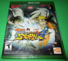 Naruto Shippuden: Ultimate Ninja Storm 4 Xbox One  *Factory Sealed!  *Free Ship!