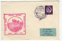 Great Britain Stocktown Railway special cover 1965