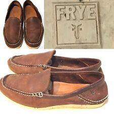 Frye Mason Venetian Elk Leather Loafers Shoes Men'S Sz 8 $178