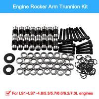 1 Set Complete Car Aluminium Rocker Arm Trunnion Kit For LS1 LS3 LS7 Engine
