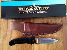 SCHRADE USA MADE PH2 HERITAGE PRO HUNTER BLACK WALNUT HANDLE KNIFE NEW LOVELESS