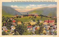 Keyser West Virginia~Birdseye~Potomac State School~Valley Hospital~Homes~1938 PC