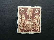 GREAT BRITAIN. KING GEORGE VI 1939-48. 2/6 two shillings & sixpence. SG476 LMM