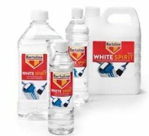 White Spirit Paint Brush Cleaner Thinning Solvent 750ml  2L