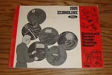 1989 Ford Econoline Wiring Diagram EVTM Manual 89