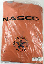 Nasco 1103JBO ArcLite X-Large Enhanced Visibility Orange Rain Jacket New Open Pk