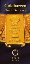 Folder Goldbarren