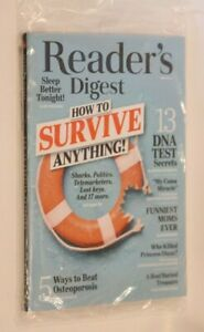 READER'S DIGEST MAGAZINE MAY 2019 13 DNA TEST SECRETS HOW TO SURVIVE ANYTHING