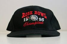 4766a2a976a8f Vintage Rose Bowl 1995 Champions Cap Penn State Nittany Lions Hat Football  NOS
