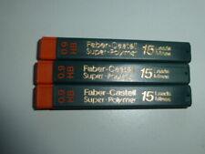 3 Etui Feinminen FABER-CASTELL 0,9 HB