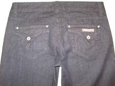 Hudson Jeans Delux Wide Leg Super Flare Light Weight Denim Dark Sz 28