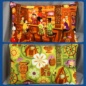 Disney Parks SHAG Trader Sam's Enchanted Tiki Bar Pillow Wonderground Gallery