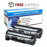 2PKs CE278A Toner Cartridge For HP LaserJet M1536dnf P1566 P1606dn Printer 78A