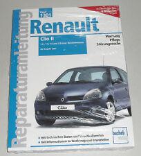 Reparaturanleitung Renault Clio II Benziner, Baujahre ab 2001