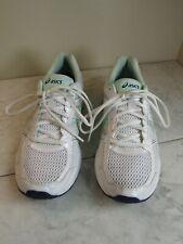 Asics Gel-Contenu 4 Lace Up Lace White Mesh Sneakers Shoes Women's 11 EU 43.5