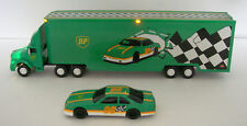 REDUCED---1995 BP Toy Racing Transport Truck ,headlights,tail lights MINT-NIB