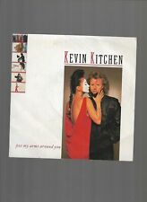 kevin kitchen colored vinyl single titled put my arms around you