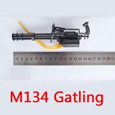 "4D 1/6 M134 Minigun Gatling Machine Gun Model US Army TERMINATOR Fit For 12"""