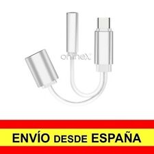 Cable 2 en 1 para Micro USB TIPO C Jack 3,5 mm Audio para HUAWEI P20 PRO a3377