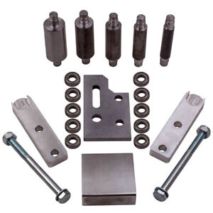 Small Wheel Holder with 5 small wheels Full Kit For Belt Grinder 2x72