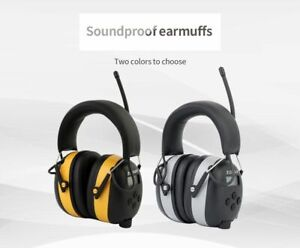 Electronic Ear Muff Noise Reduction Bluetooth Rechargeable Shooting Headphones