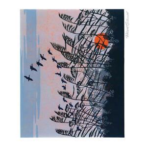 Sunset Flight by Robert Gillmor Blank Greeting Card with Envelope