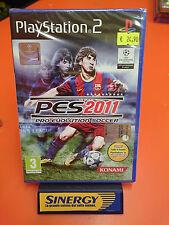 PES 2011- sony playstation 2,pro evolution soccer-nuovo italiano sigillato origi