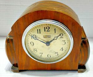Lowne Electric vintage clock