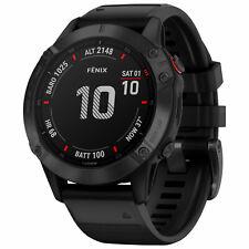 Garmin fenix 6 Pro GPS Sport Smartwatch Laufuhr Herzfrequenz 32GB schwarz