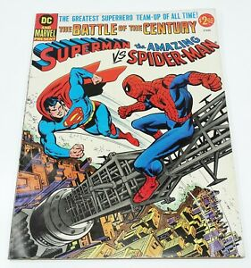 Superman vs The Amazing Spider-Man VG 1976 DC/Marvel Comics Treasury Edition