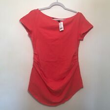 Stowaway Collection Maternity Top SZ L NWT N2