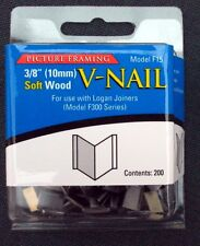 Logan F15 10 mm V nails for softwood
