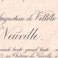 Louise Augustine De Villèle Rioult De Neuville Livarot 1888