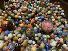 Super Nice Set of 15 Top Shelf Collectible Glass Marbles
