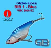 Cicaden, Blue, Kunstköder original RIBCHE LURES, VMC 9908 BZ 8g - 20g